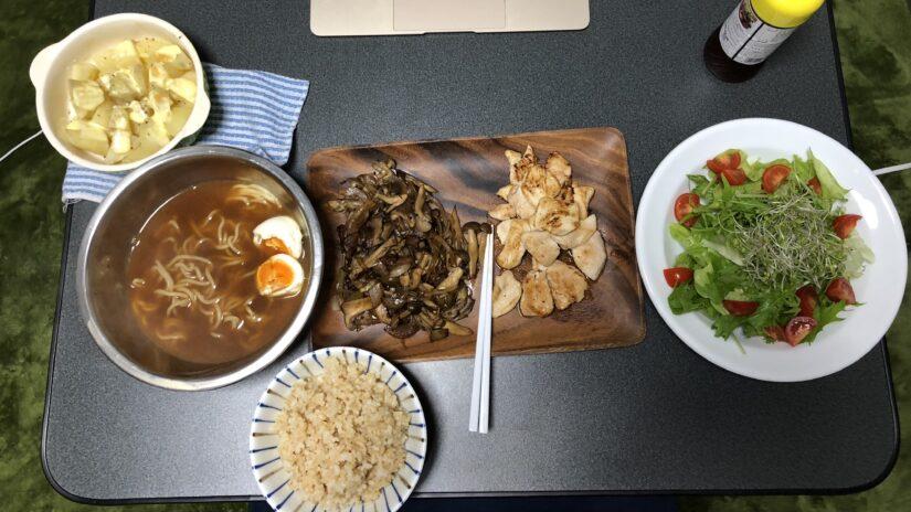 筋トレで増量の食事を紹介【写真解説】2