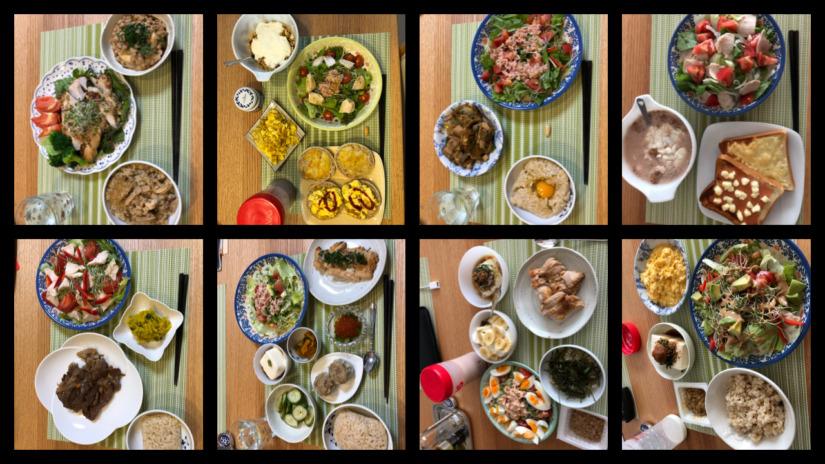 筋トレで増量の食事を紹介【写真解説】